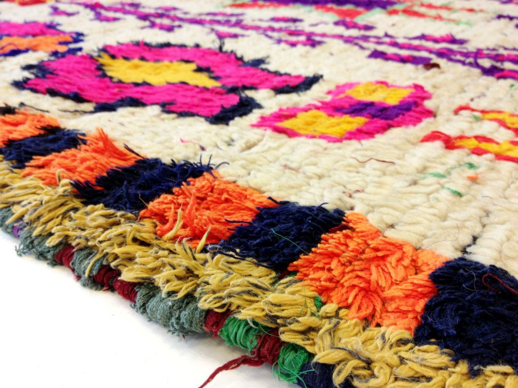 Kelim Marokkanische Berber Teppich Azilal 220 x 140 cm